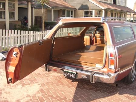 Mercury Montego Villager rear 1973